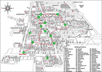 central washington university campus map Dalilusa Com Uesl Program At Central Washington Univeristy central washington university campus map